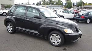 2008 chrysler pt cruiser black stock 11038 youtube