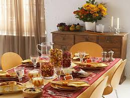 table decorations for thanksgiving table designs