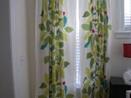 Ikea Flower Curtains Decorating Ikea Blad Curtains Curtain Lights Decorate The House