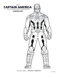 1 captain america the winter soldier coloring sheets to keep