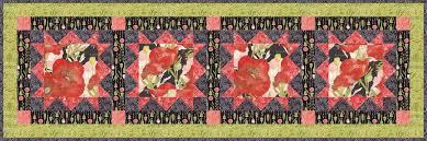 poppy mae table runner quilt kit