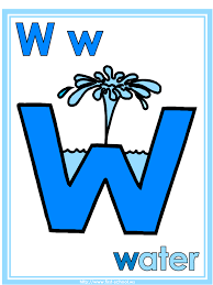 letter w water theme lesson plan printable activities poster