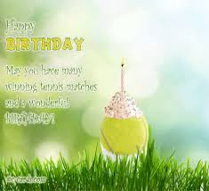 tennis player free birthday wishes ecards greeting cards 123