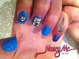 25 emoji nail art designs 1