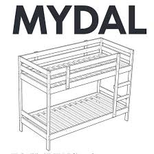 Ikea Mydal Bunk Bed Cocoon Mydal Bunk Bed With Reading Nook Ikea Hackers