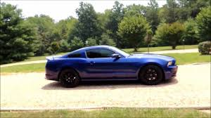 2011 Ford Mustang Black Mustang Gt Customers Have The Option Of A New Track Package