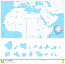Blank Maps Of Africa by Outline Map Of Africa Stock Image Image 14749961