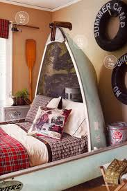 best 25 fishing bedroom decor ideas on pinterest fishing themed canoe bed for lake house the okanagan shuswap area boasts some of the most