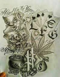 gallery gangsta tattoo drawings drawing art gallery