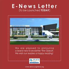e news letter to be launched today eklavya global