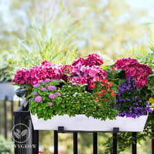 bloomwall self watering vertical planter with hanging bracket
