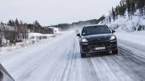 porsche winter porsche will unveil the new 2018 cayenne on august 29 roadshow