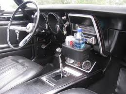 1969 camaro center console 1967 1969 camaro ashtray dual drink holderblue thunder
