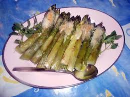 cuisine asperges vertes recette d asperges vertes gratinées au parmesan