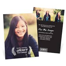 announcements for graduation graduation invitations custom designs from pear tree