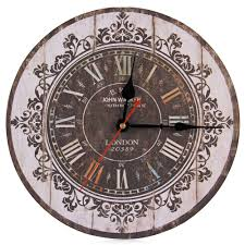 online get cheap large rustic wall clocks aliexpress com