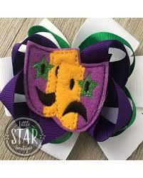 mardi gras bow find the best deals on mardi gras hair bow mardi gras mask bow