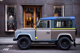 land rover one land rover creates one off special edition defender