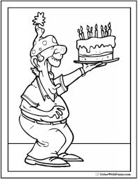 happy birthday grandpa coloring pages pertaining to encourage to