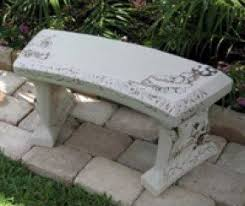 Personalized Park Bench Concrete Memorial Benches Foter