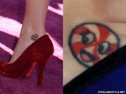 katy perry u0027s tattoos u0026 meanings steal her style