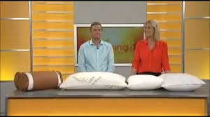 tv bed pillow the original bamboo pillow as seen on tv youtube