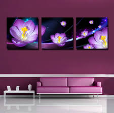 how to hang canvas art without frame canvas set of 3 floral oil paintings canvas print without frame