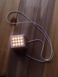 Cube Lights Moonbright 12 Led Super Bright Paper Lantern Cube Light