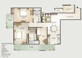 5 room floor plan floor plans mahagun moderne sector 78 noida mahagun noida