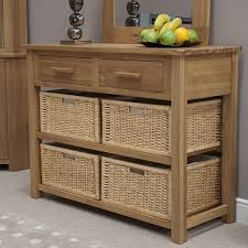 hallway table with storage entry tables with storage baskets console hall table