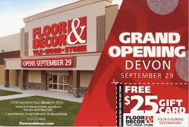 floor decor introduces itself with direct mail total retail