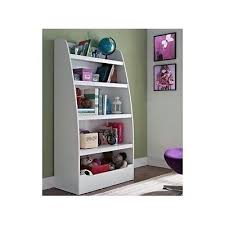 childrens white bookcase toy chest bookcase storage shelf kids