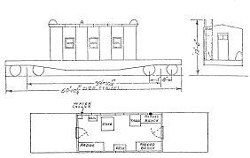 Caboose Floor Plans New York Central Caboose Roster
