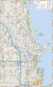 chicago map printable map of chicago interactive and printable maps wheretraveler