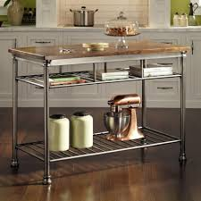 stainless steel butcher table kitchen fetching kitchen design ideas with kitchen island cart