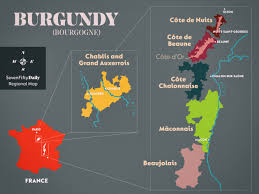 Map Of France Wine Regions by Burgundy Sevenfifty Daily
