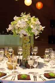 Candle Centerpiece Wedding Wedding Reception Centerpieces With Candles And Flowers