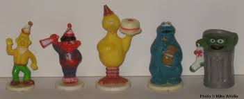 sesame cake toppers mikey s muppet memorabilia museum sesame 1969 1979