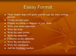 process essay thesis statement basic guide to writing an essay ppt video online download