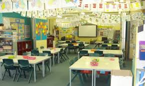 classroom layout for elementary team teaching two teachers two classes in one open primary school