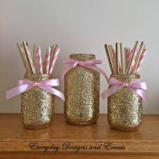 gold baby shower decorations pink and gold baby shower decorations finest jar pink gold