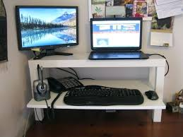 Desk Mount Dual Monitor Stand Desk Standing Desk Adjustable Monitor Stand Dual Monitor
