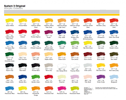 colour charts u2013 crafty arts