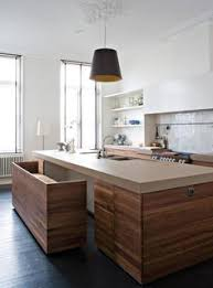 Rustic Kitchen Islands With Seating Out Of The Ordinary 10 Kitchens With Unique Open Shelving