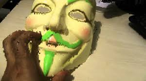 review dealextreme v for vendetta anonymous guy fawkes plastic