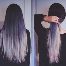 what to dye your hair when its black or you can opt for a delicate white lavender dip dye low key dip