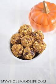 Pumpkin Food by Pumpkin Pie Energy Bites Vegan And Gluten Free My Whole Food Life