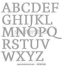 alphabet sketch style made vector imitation stock vector 259839332