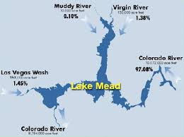 lake mead map las vegas wash wash facts where does our water come from