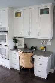 White And Gray Kitchen Cabinets by 30 Functional Kitchen Desk Designs Kitchen Desks Google Images